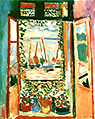 Matisse : The Open Window at Collioure 1905 : $395