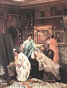 Lawrence Alma-Tadema : The Collector of Pictures in the Time of Augustus, 1867 : $495