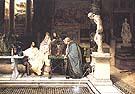 Lawrence Alma-Tadema : A Roman Art Lover 1868 : $525