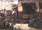 Lawrence Alma-Tadema : The Flower Market 1868 : $405