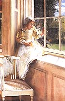 Lawrence Alma-Tadema : Laura Alma-Tadema Sunshine : $369