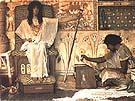 Lawrence Alma-Tadema : Joseph Overseer of Pharaohs Granaries 1874 : $405