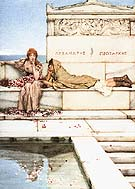 Lawrence Alma-Tadema : Xanthe and Phaon 1883 : $379