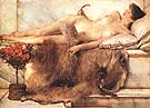 Lawrence Alma-Tadema : Tepidarium 1881 : $365