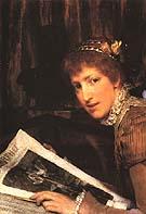 Lawrence Alma-Tadema : Interrupted 1880 : $355
