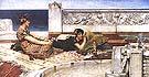 Lawrence Alma-Tadema : Love's Votaries 1891 : $455