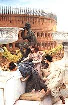 Lawrence Alma-Tadema : The Coliseum 1896 : $415