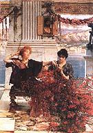 Lawrence Alma-Tadema : Love's Jewelled Fetter 1895 : $365
