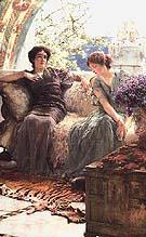 Lawrence Alma-Tadema : Unwelcome Confidence 1895 : $399