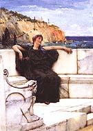 Lawrence Alma-Tadema : Resting 1882 : $355