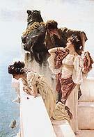 Lawrence Alma-Tadema : Coign of Vantage 1895 : $455