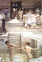 Lawrence Alma-Tadema : A Favourite Custom 1909 : $405