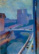Matisse : a Glimpse of Notre Dame in the Late Afternoon : $369