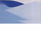 Georgia O'Keeffe : Blue Sand 1957 : $399