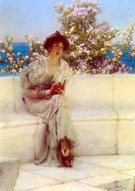 Lawrence Alma-Tadema : The Year is at the Spring 1902 : $395