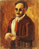 Mark Rothko : Self Portrait 1936 : $365