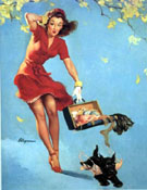 Pin Ups : Finders Keepers 1945 : $375