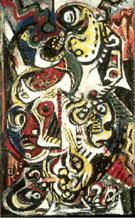 Jackson Pollock : Masqued Image 1938 : $369