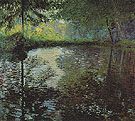 Claude Monet : Pond at Montgeron 1876 : $385
