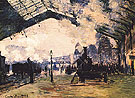 Claude Monet : Gare Saint Lazare 1876 : $369