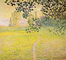 Claude Monet : Morning Landscape : $389