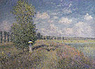 Claude Monet : Summer Fields of Poppies 1875 : $389