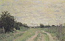 Claude Monet : The Path Through the Vineyards 1872 : $389