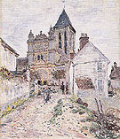 Claude Monet : The Church at Vetheuil 1878 : $385