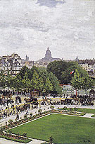 Claude Monet : Garden of the Princess 1867 : $379