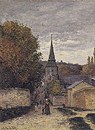 Claude Monet : Street in Sainte Adresse 1867 : $379