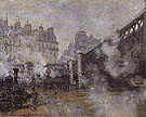 Claude Monet : The Pont de LEurope 1877 : $389