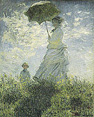 Claude Monet : Camille and Jean on a Hill 1875 : $389
