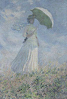 Claude Monet : Woman with a Parasol 1886 : $389
