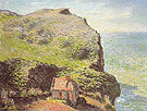 Claude Monet : The Customs Post at Varengeville 1882 : $385