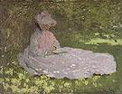 Claude Monet : Camille Reading 1872 : $369