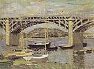 Claude Monet : The Bridge at Argenteuil 1874 : $389