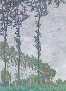 Claude Monet : Poplars Wind Effect 1891 : $389