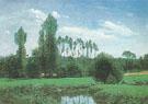 Claude Monet : View Near Rouelles environs of Le Havre 1985 : $389