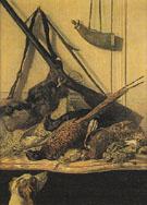 Claude Monet : Hunting Trophy 1862 : $389