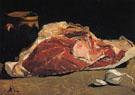 Claude Monet : Still Life Priece of Beef 1864 : $369