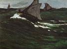 Claude Monet : The Green Wave 1865 : $389