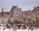 Claude Monet : Church of Saint Germain I Auxerrois 1867 : $399