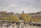 Claude Monet : Quai du Louvre 1866 : $399