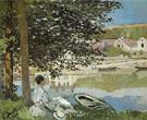 Claude Monet : The River 1868 : $375