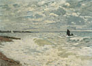 Claude Monet : The Sea at Le Havre 1868 : $389