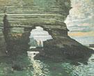 Claude Monet : Cliffs at Etretat 1868 : $385