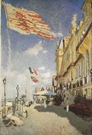Claude Monet : Hotel des Roches Noires 1879 : $389