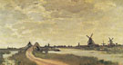 Claude Monet : Windmille at Haalderabroek 1871 : $389