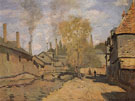 Claude Monet : The Robec Stream Rouen 1872 : $389