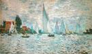 Claude Monet : The Barks Regatta at Argenteuil 1874 : $389